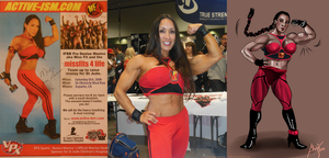 Denise Masino as Miss Fit says thanks to mavruda by zenx007