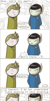101 Ways to Make a Vulcan Laugh: 003 by TheVeggieSalad