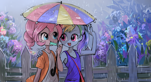 Rainy day by quizia