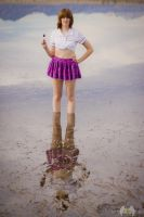 Lakeside Schoolgirl III by DimensionalImages