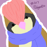 017 Pidgeotto by Hinami