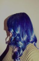 Blue hair by Elleir