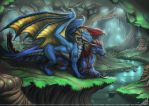 Kahze and Mallikeet Commission by StriderDen