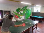 Ping-pong with mantis by maksiov