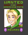 Link Wanted Poster by jessieiii
