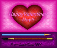 HappY Valentines Day by LadyIlona1984