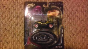 Halo 2 Golden Warthog By Johnny Lightning by spaceman022