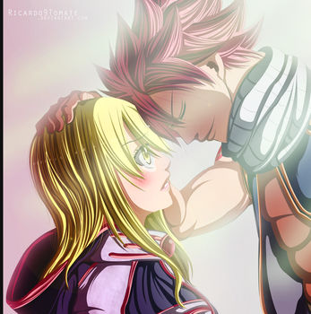 Natsu Dragneel - '' Lucy Thank You!'' by Ric9Duran