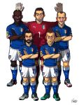 [2014 World cup Edition] D team : Italy by sakiroo