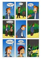 Futurama - Tales of Meatbag Island - PAGE 25 by Spider-Matt