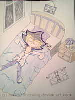 Yu-Gi-Oh - Sleeping Position #69 - The Starfish by InvaderBlitzwing