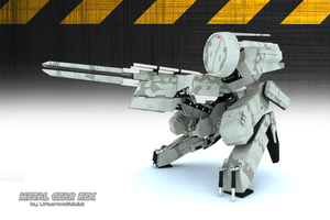 Metal Gear Rex 7 by urbanwolf222