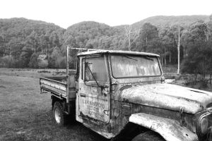 Old Truck by chefjack