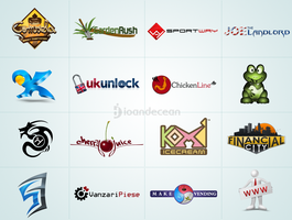 Logo design showcase 8 by nelutuinfo
