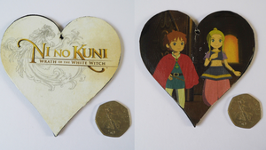 Ni no Kuni: Wrath of the White Witch Heart by YeMidnightCarnival