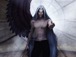 Sephiroth: C'mere by 3D-Fantasy-Art