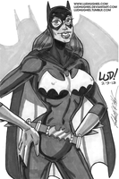 Batgirl Marker by LudHughes