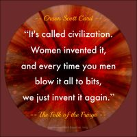 Orson Scott Card Quote by Mulluane