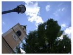Looking Up in Ljubljana by saladin