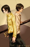 Crossed Paths, James and Snape by dontcallmenymphadora