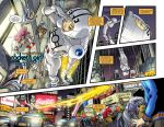 Rocket Girl Sample Pages 3-4 by Tentopet