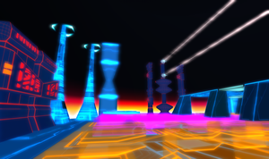Tron 80's Style Build Second Life image 1 by Maiamimo