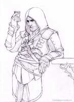 Edward Kenway by Creedofpirates