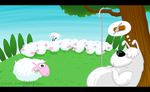 There goes the sheep... by ferwar