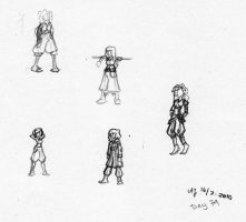 Day 79 - Character thumbnails by Bumblebee04