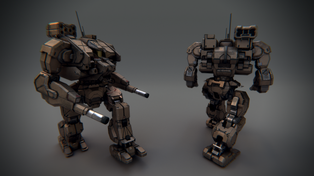 Mech by Canapy-3D