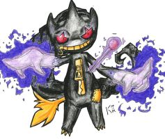 Banette used Curse by Koskish