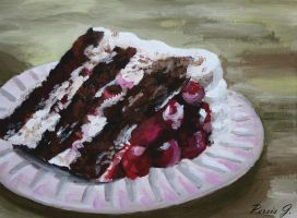 Black Forest Cake by PDJ004