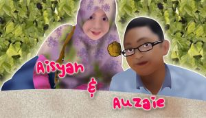 Aisyah And Auzaie by HimawariNana