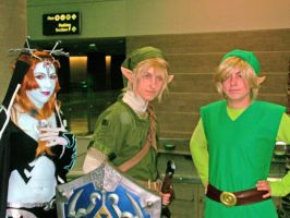 Link, Link and Minda by Lynkwulf