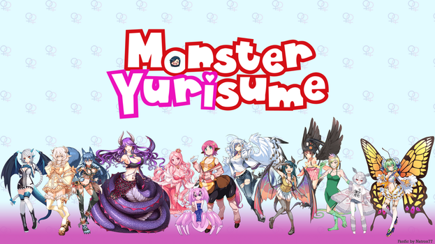 Monster Yurisume Cast Wallpaper by Natron77