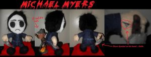 Michael Myers Doll by xEvilxPenguinxNinjax