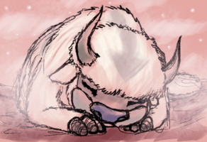 TLA 30D - Day 8 - Appa by Kurozora-Konoi