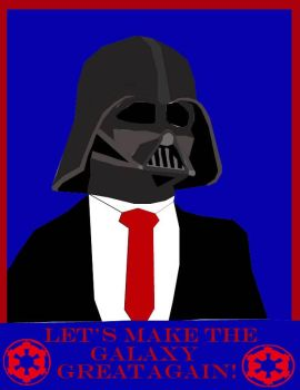Darth Vader: Make The Galaxy Great Again by ofrankie12