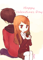 Happy Valentines day by Jiwi-chan