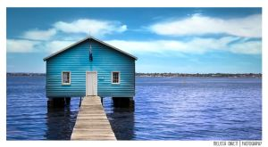 The Blue Boat House by mell96