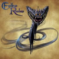 Endless Realms bestiary - Cheshire Cat by jocarra