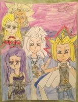 The Five Yamis by Camilia-Chan
