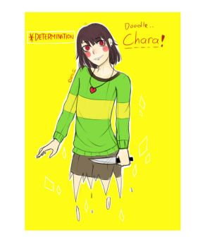 Chara Undertale by UyiiShuu
