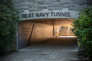 USMA: Beat Navy Tunnel by Natures-Studio