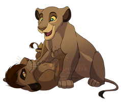 Lion King OC ? commission done for me by xXBrittyBabeXx