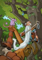 The Old Wizard_color by Lord-Dragon-Phoenix