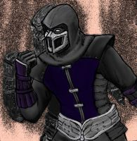 Noob Saibot by pfcurves