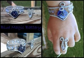 Blue Magic Battery by razzigyrl