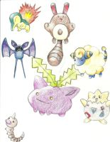 POKEMANS O.O by TheBreakfastUnicorn