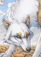 ACEO for Zowolf by Dragarta